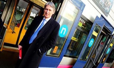 Transport secretary, Philip Hammond