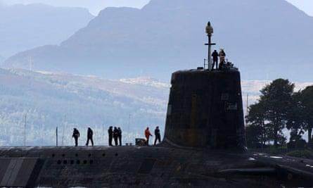 Gordon Brown Announces Plans To Cut Trident Submarines