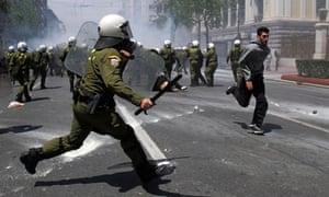 Greece general strike