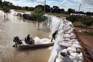 Mississippi floods: ***BESTPIX***Army Corps Opens Spillway In Louisiana To Ease Flooding
