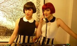 Amber Butchart and Nisha Thirkell, AKA the Broken Hearts DJs
