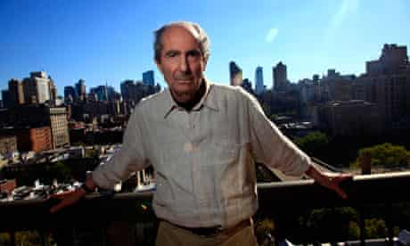 File photo of author Philip Roth in New York