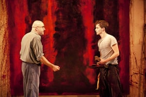 Stage Designs: Red, stage play, 2009