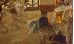 Edgar Degas' The Rehearsal