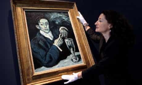 Pablo Picasso's Portrait of Angel Fernandez de Soto