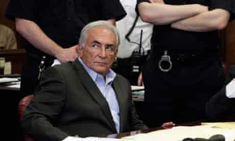 Former IMF director general Strauss-Kahn at court