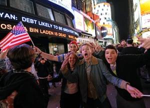 Bin Laden US reaction: US-ATTACKS-OBAMA-BIN-LADEN -NYC