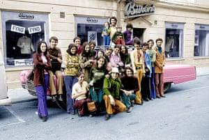 Osama bin Laden: 1971: Osama bin Laden on a visit to Falun, Sweden