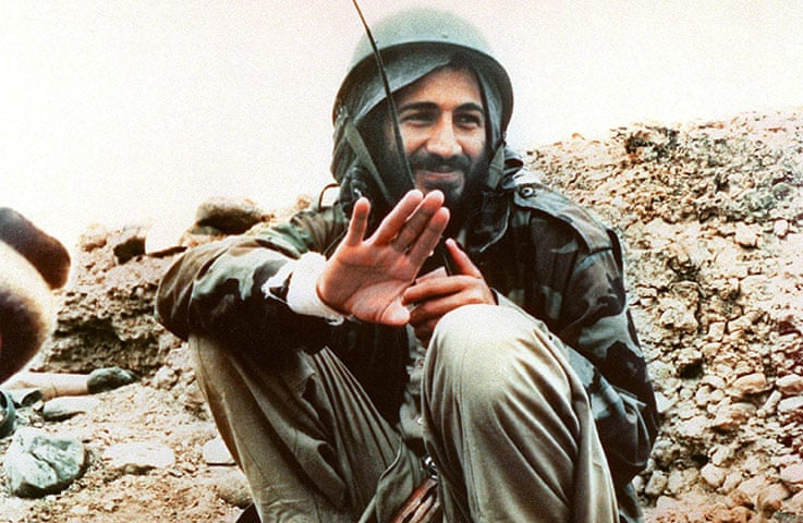 1989: Osama bin Laden in Afghanistan during the war with Russia Photograph: Sipa Press/Rex Features