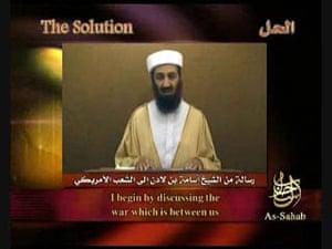 Osama bin Laden: 2007: Al Qaida leader Osama bin Laden speaks