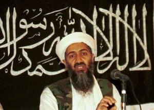 Osama bin Laden: 1998: Osama bin Laden holds a press conference in Khost, Afghanistan
