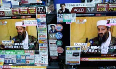 Osama bin Laden's death is announced on Japanese TV