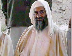 Osama bin Laden: 2001: Osama bin Laden, at the wedding of his son in  January in Kandahar