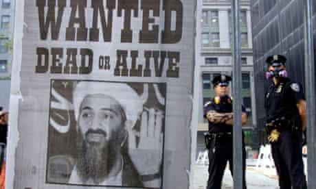 Bin Laden wanted poster