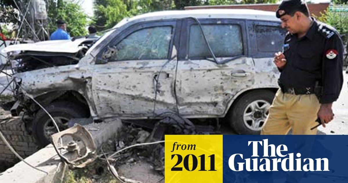 US consulate vehicles attacked in Pakistan | World news | The Guardian