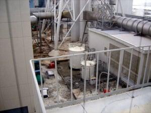 Tsunami in Japan: Tsunami that hit the Fukushima Daiichi Nuclear Power Station