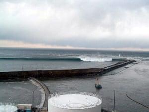 Tsunami in Japan: hit the Fukushima Dai-ichi nuclear power station