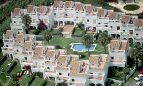 Aerial View of Apartment Urbanization