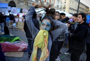 Madrid protests saturday: Preparing to continue the protest