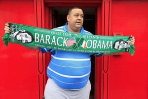 Moneygall: Obama scarf
