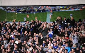Premier League 2010-11: Birmingham City fans in the stands