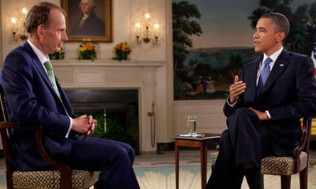 Barack Obama on The Andrew Marr Show
