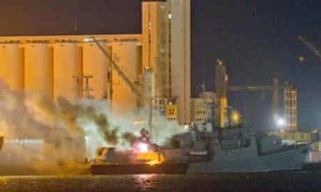 Libyan Navy Frigate