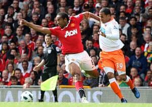 sport6: Manchester United v Blackpool - Premier League