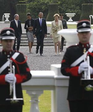 obama visits Ireland: Barack Obama, Mary McAleese, Michelle Obama, Martin McAleese