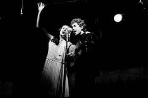 Bob Dylan at 70: Newport Folk Festival, 1964: Bob Dylan, with Joan Baez