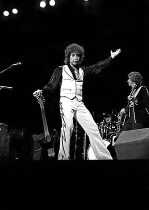 Bob Dylan at 70: Bob Dylan performing on stage in 1978