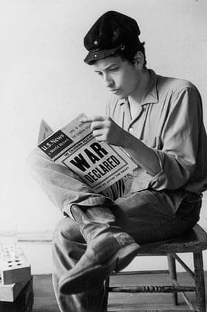 Bob Dylan at 70: Bob Dylan Reads The News 1962