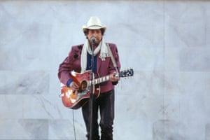 Bob Dylan at 70: Bob Dylan Singing at Bill Clinton's Inauguration
