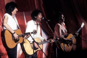 Bob Dylan at 70: Ron Wood, Bob Dylan and Keith Richards Live Aid Concert - July 13, 1985