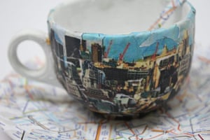 Foundling Museum: Founding Museum teacup London skyline