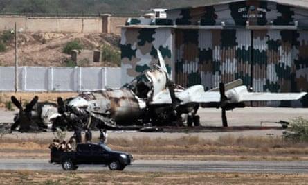 Karachi airbase