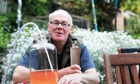 John Wright rhubarb wine
