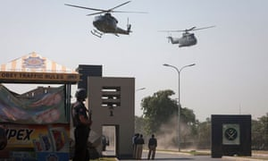 Entrance to Pakistan's army headquarters after an attack by militants in Rawalpindi in 2009