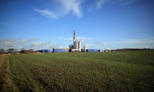 Shale gas drilling near Blackpool