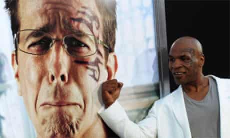 Mike Tyson at The Hangover II Hollywood premiere
