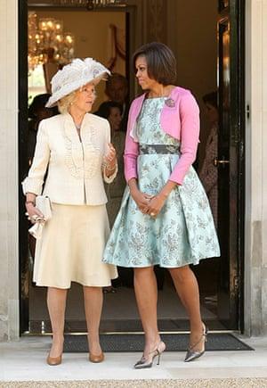 Obama UK visit: Michelle Obama and Camilla, Duchess of Cornwall