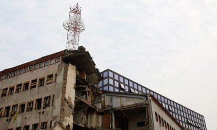 RTS building destroyed