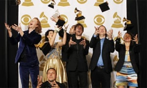 Arcade Fire at the Grammy awards