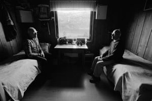 Elin Hoyland: The Brothers sit opposite each other on their beds