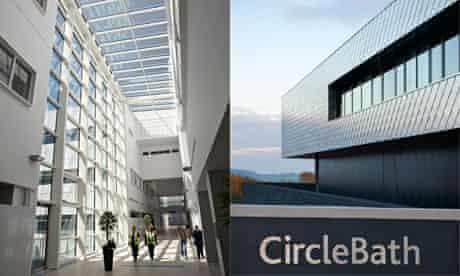 QEH Birmingham and Circle Bath hospitals