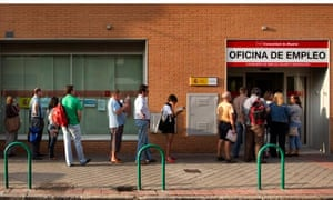 Spain unemployed