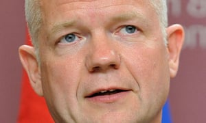 William Hague says military operations in Libya will stay within the remit of UN resolution 1973