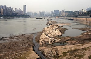 Drought in China: Chongqing Municipality