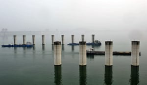 Drought in China: Three Gorges Reservoir