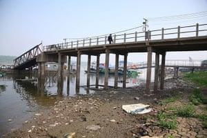 Drought in China:  in Nanjing, east China's Jiangsu
